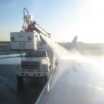 Take your time with the de-icing, pal. I've got three magazines and a belly full of oatmeal.