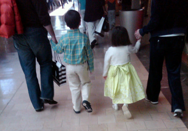 Out-classing the rest of the mall on a Saturday afternoon
