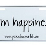 happiness-license-plate