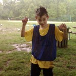 ...coached (and played) soccer in the rain (Yes, it's fun!)...
