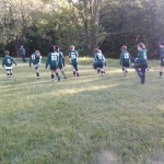 ...coached the team to victory after an hour-long delay of the start of the game...