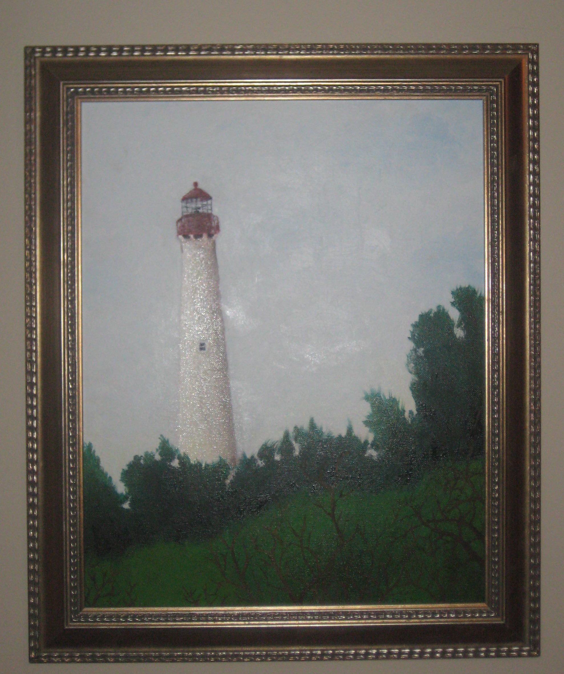 The Cape May Lighthouse, by Nick Singer