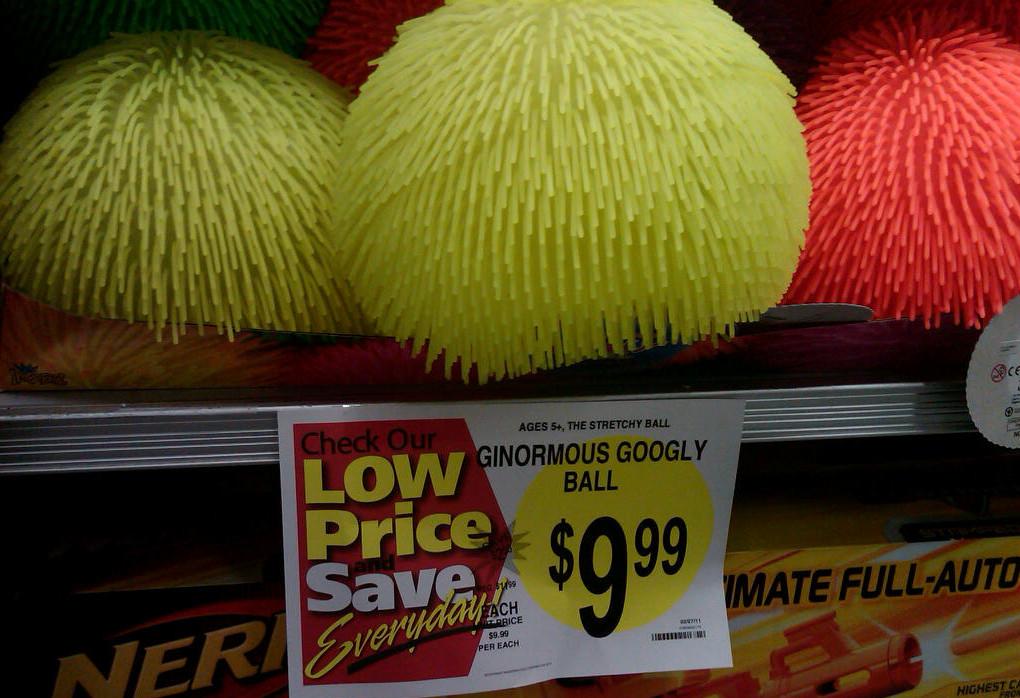 Big googly balls