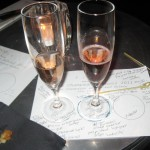 Flute Champagne School 2011: Rose Champagne and Smoked Salmon