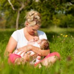 See? Breastfeeding is so natural, you&#039;ll want to do it in a meadow.