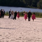 WORDLESS WEDNESDAY: Sandy Bridesmaids
