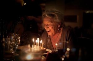 old woman birthday
