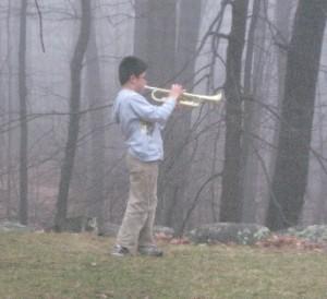 Trumpet yard