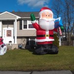 Santa Eats House, Christmas