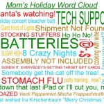 Mom's Holiday Word Cloud