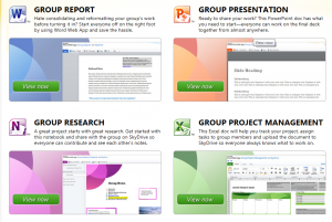 Microsoft Group Apps