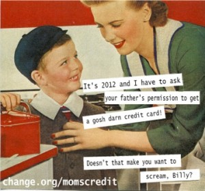 Credit Card act petition poster