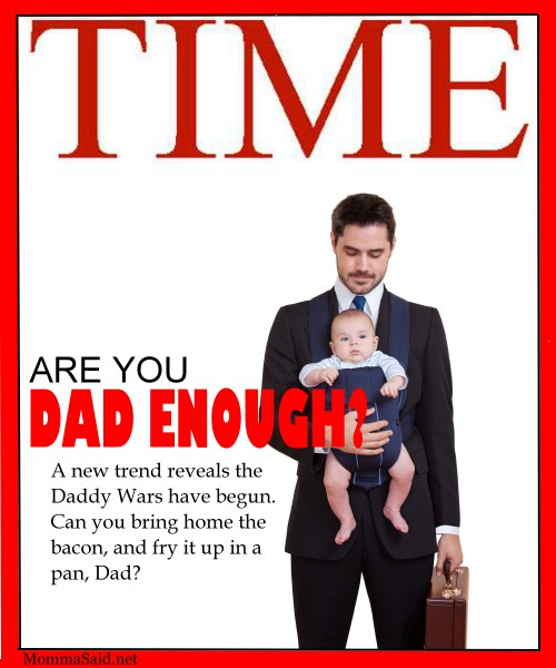 Time Magazine Mom enough spoof