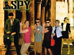 SPY at Discovery Times Square