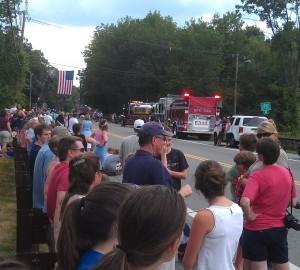 funeral procession Kinnelon