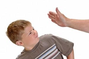 hit child
