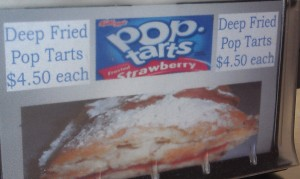 Deep fried Pop Tarts