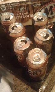 root beer empties