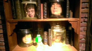 Ripley's heads in jars
