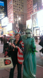 Times Square Statue of Liberty
