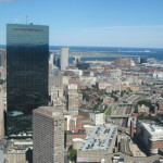 The kids and I took this from atop the Prudential building on a beautiful summer day.