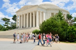 class trip Jefferson Memorial