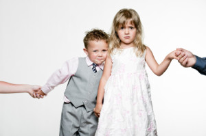 kids dressed up