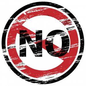 No stamp