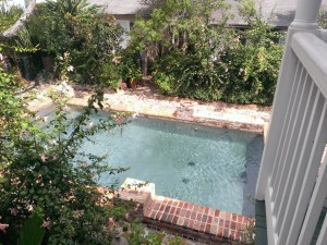 Audubon Cottages pool NOLA
