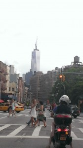 Freedom Tower from Greenwich Village