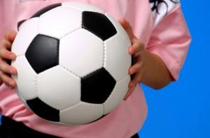 pink soccer team