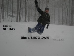 no day like a snow day