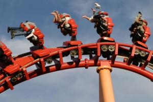 roller coaster moods