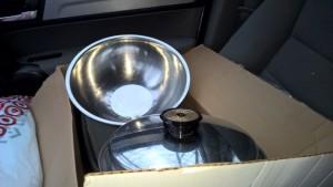 box of pots